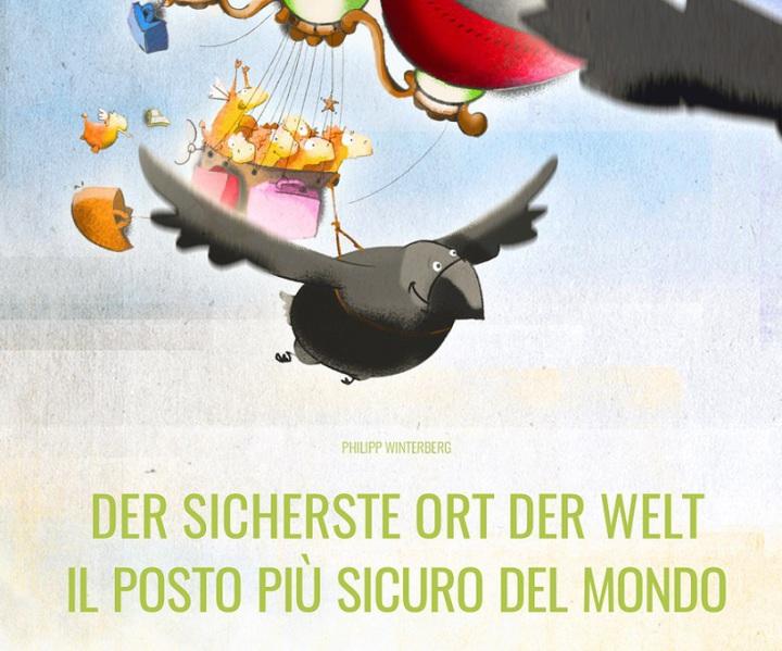 Libro bilingue illustrato per bambini, tedesco e italiano